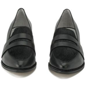 NEW Senso Lola III Slip on Black Leather/Pony